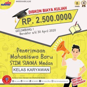 Program Kelas Karyawan STIM SUKMA Medan